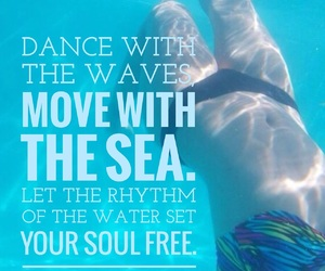 dance, free, and freedom image