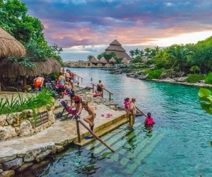 cancun, mexico, and travel image