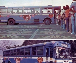1970s, bus, and illusion image