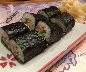 japan, sushi, and natto image
