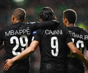 neymar, cavani, and psg image