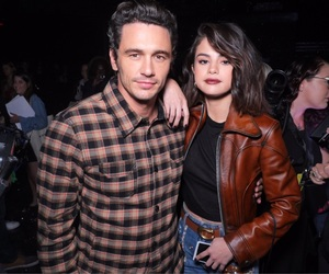 selena gomez and james franco image