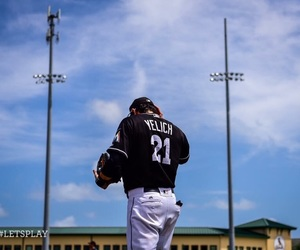baseball, christian, and clouds image