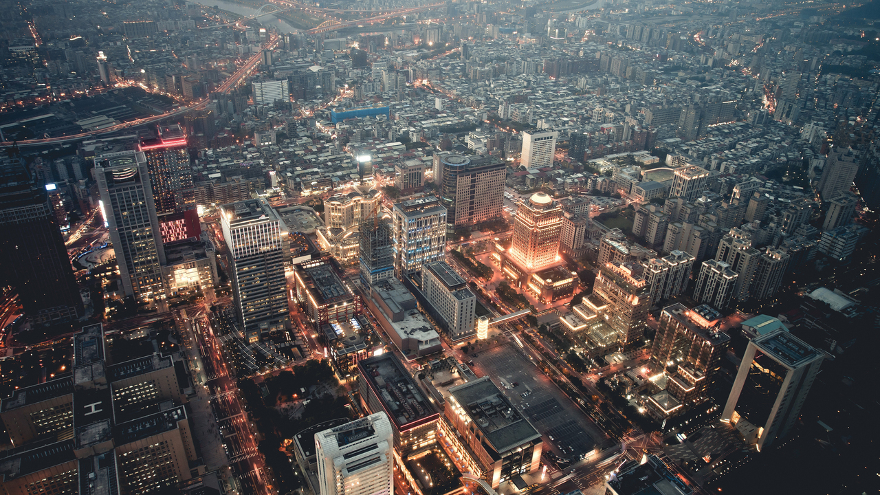 city and light image