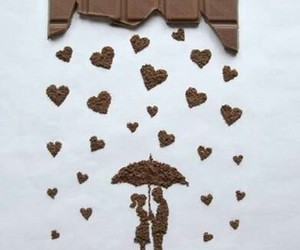 love, art, and chocolate image