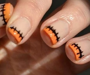 design, manicure, and halloween nails image