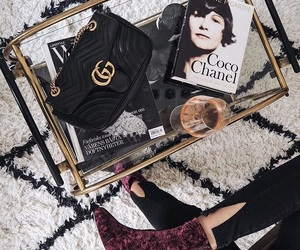 fashion, gucci, and magazine image