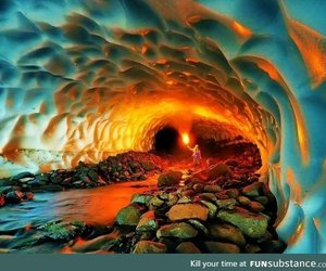 awesome, cave, and lol image