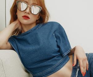 fashion, glasses, and fashion girl image