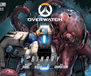 octopus, bastion, and overwatch image