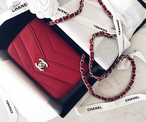 chanel, fashion, and red image