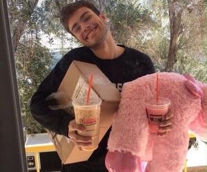 boy, boyfriend, and pink image