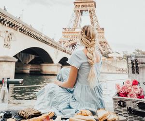 fashion, paris, and blonde image