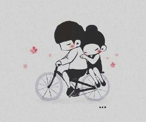love and bike image