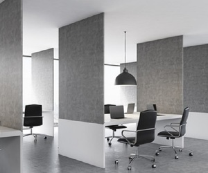 room dividers, office partitions, and custom office furniture image