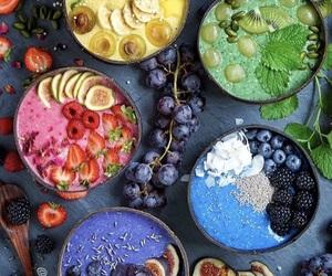 berries, raw, and vegan image