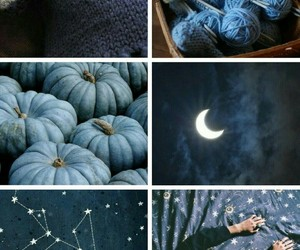 aesthetic, blue, and cozy image