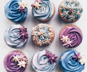 blue and cupcakes image