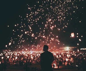 light, beautiful, and night image