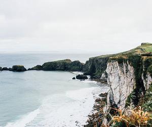 nature, ocean, and autumn image