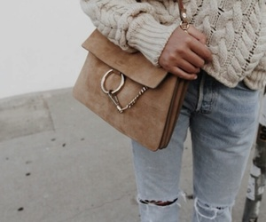 bag, clothes, and look image