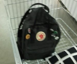 black, shopping cart, and tumblr image
