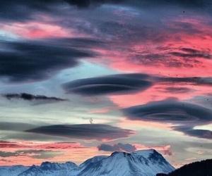 aesthetics, clouds, and sunrise image