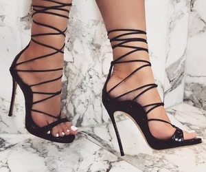 black, inspiration, and shoes image