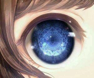 anime eyes image