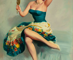 Pin Up, pinup, and vintage image