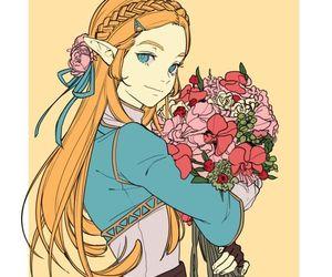 anime girl, tumblr, and princess zelda image