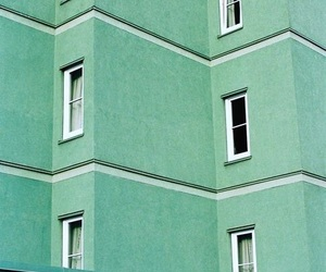 green and pastel image