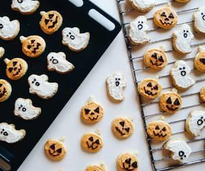 autumn, Cookies, and Halloween image