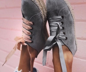 shoes, style, and pink image