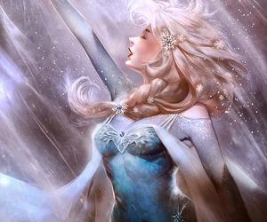 elsa, disney, and frozen image