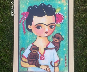 beautiful, Frida, and mexican image