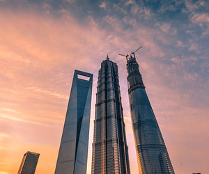 shanghai and skyscrapers image
