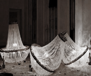 light, chandelier, and interior image