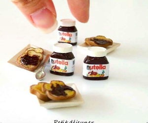 nutella, mini, and miniature image