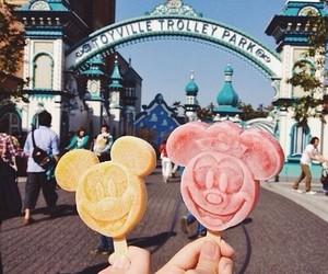 disney, ice cream, and food image