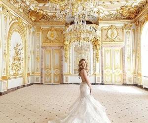 bridal, fairytale, and fashion image