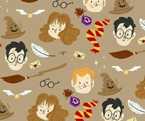 harry potter, wallpaper, and book image