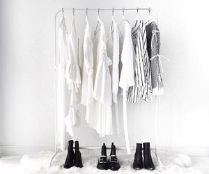style, white, and clothes image