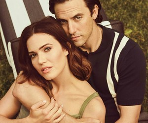 couple, this is us, and hollywood reporter image