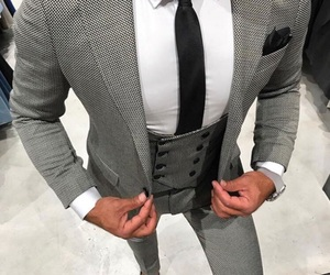 gentleman, style, and mens fashion image
