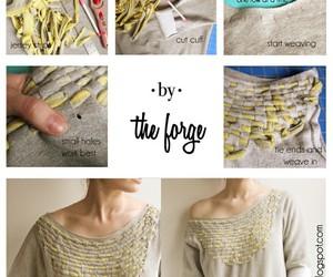 diy, shirt, and clothes image