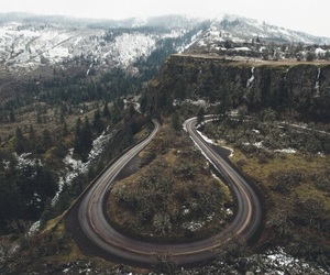 nature, adventure, and road image