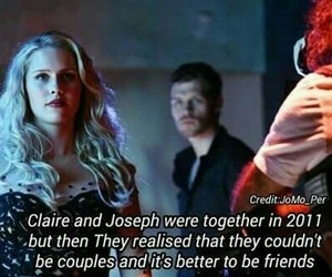 Vampire Diaries, klaus, and claire holt image