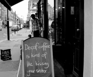 funny, coffee, and photography image