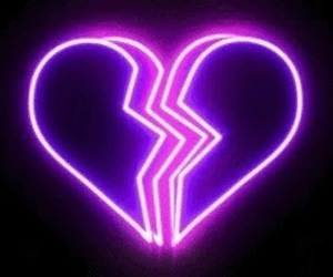 neon, heart, and light image